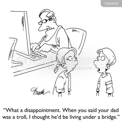 internet trolls cartoon