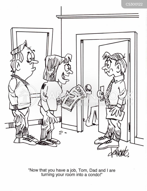 spare room cartoon