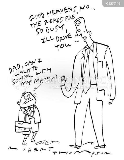 congesting cartoon