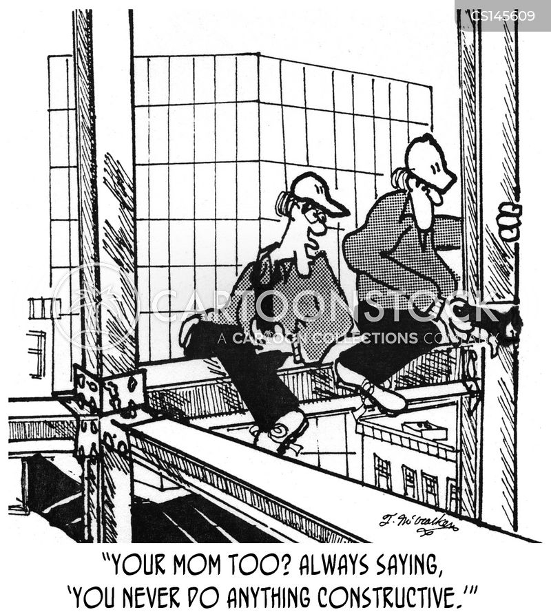 Ironworkers Cartoons and Comics - funny pictures from