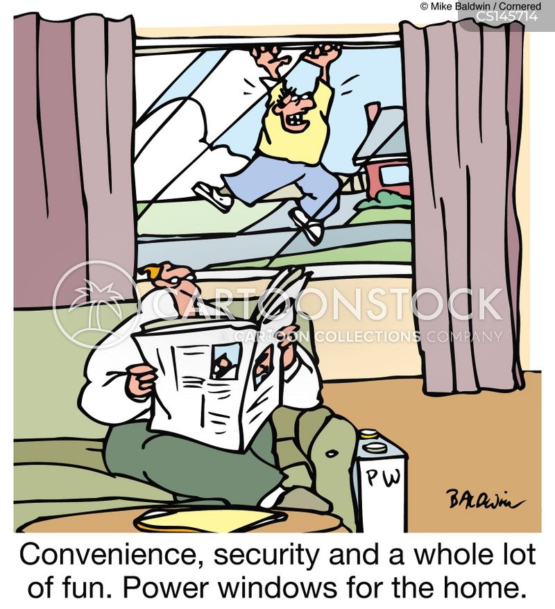 power windows cartoon