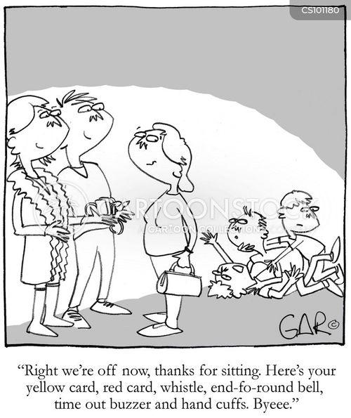 baby-sitter cartoon