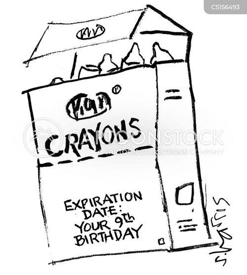 expiry dates cartoon