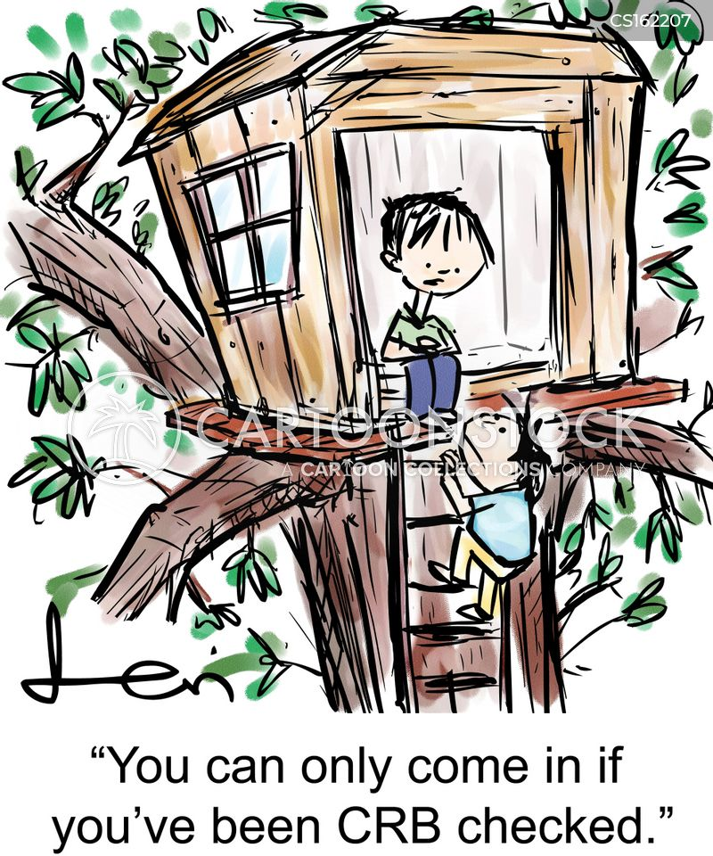 Kid Climbing Tree Climbing Trees Cartoon 5 of 14