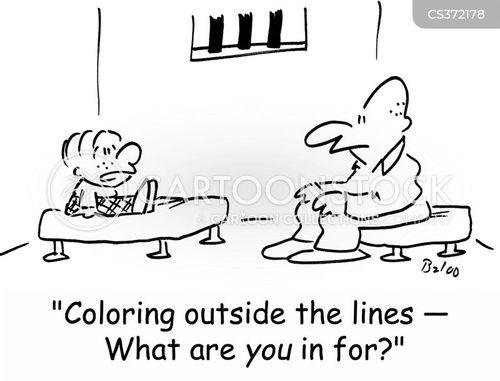 colouring cartoon