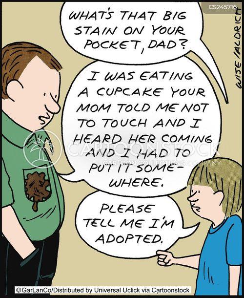 adopts cartoon