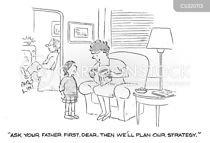 mothers and daughters cartoon