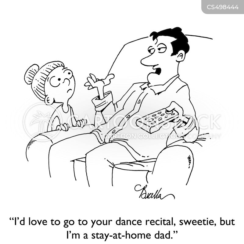 dance recital cartoon