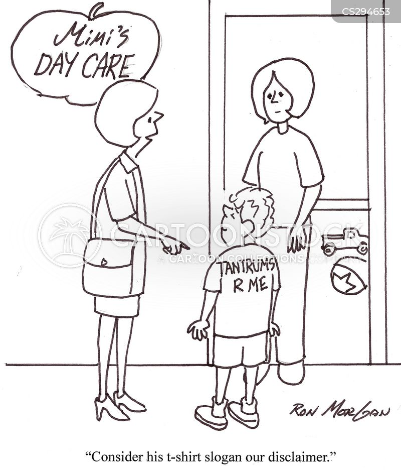 day care centre cartoon