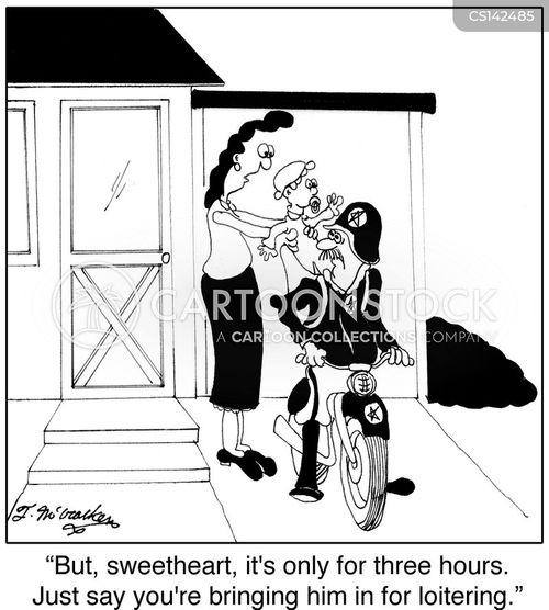 family committments cartoon