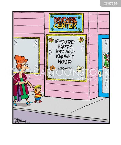 daycare center cartoon