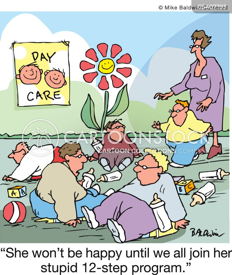 day-care cartoon