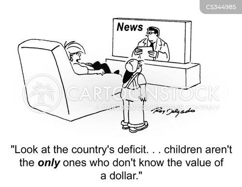 value of a dollar cartoon