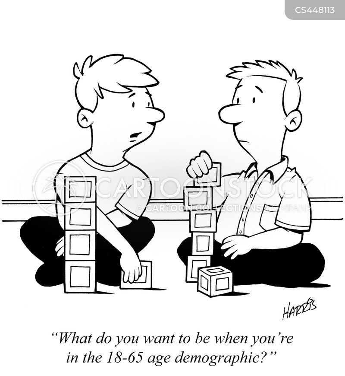 valued demographic cartoon
