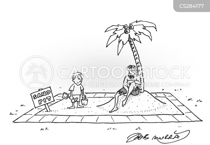 bucket and spade cartoon