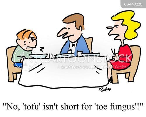 unappetizing cartoon