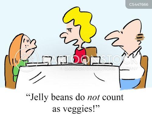 eating habit cartoon