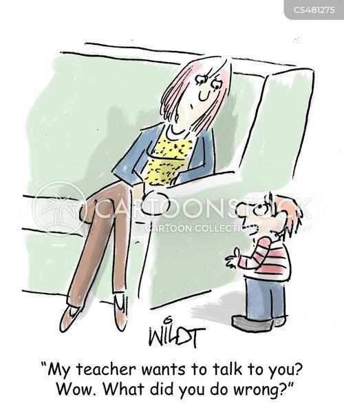 disciplinary proceeding cartoon