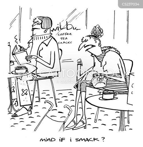 smacks cartoon