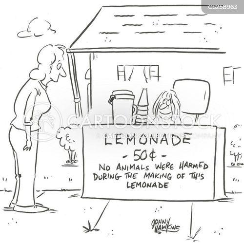 warning labels cartoon