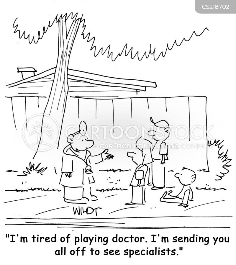 doctors nurses cartoon