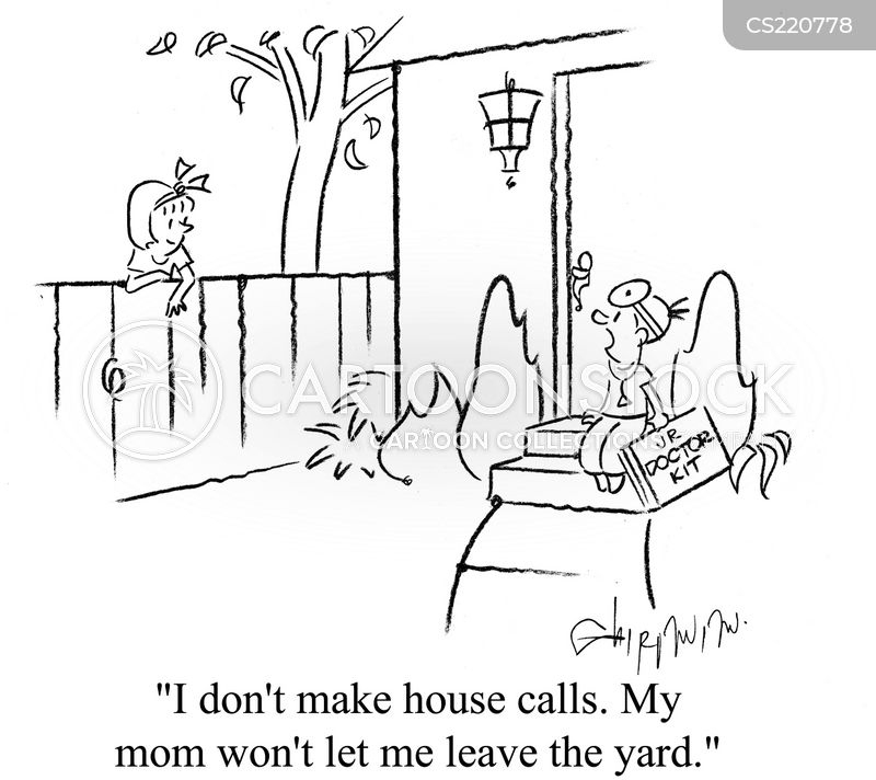 housecall cartoon