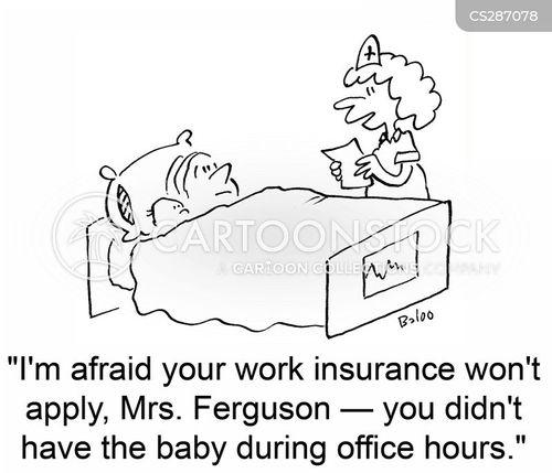 child birth cartoon