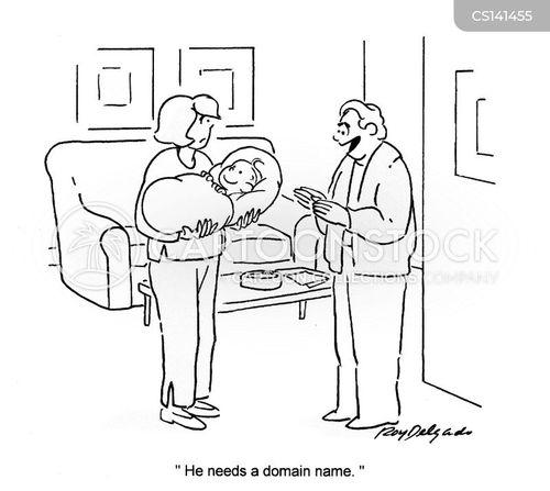 naming ceremony cartoon