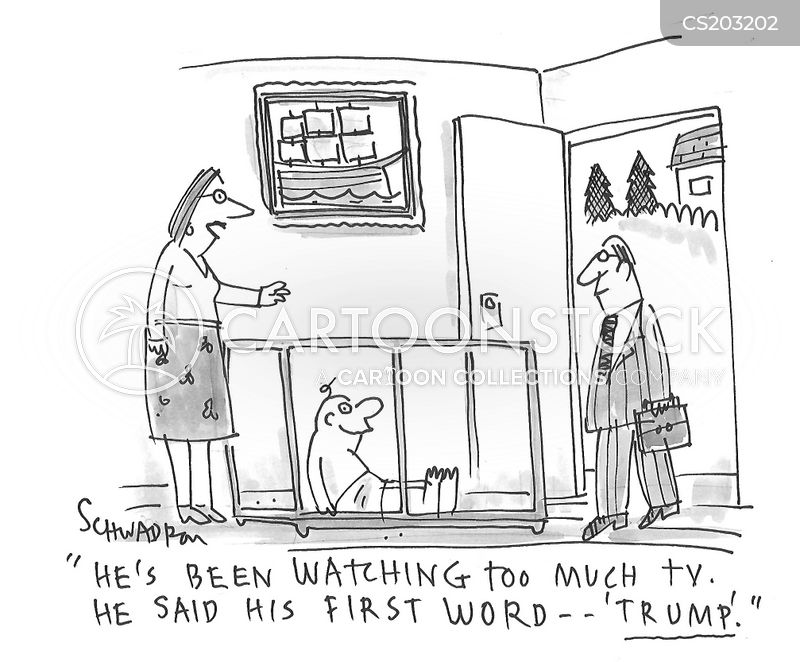 first words cartoon