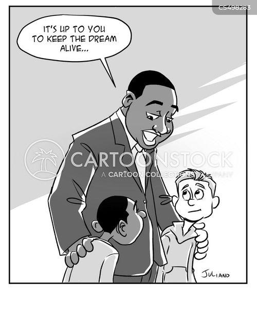 i have a dream cartoon