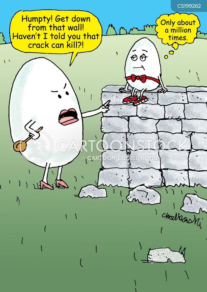 humpty-dumpty cartoon