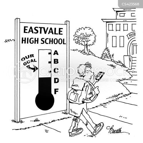 school inspection cartoon