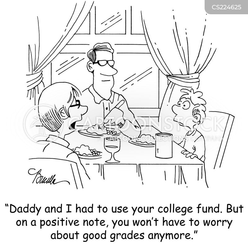 education funds cartoon