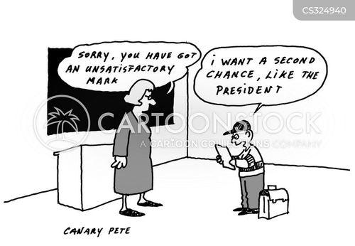 reelected cartoon