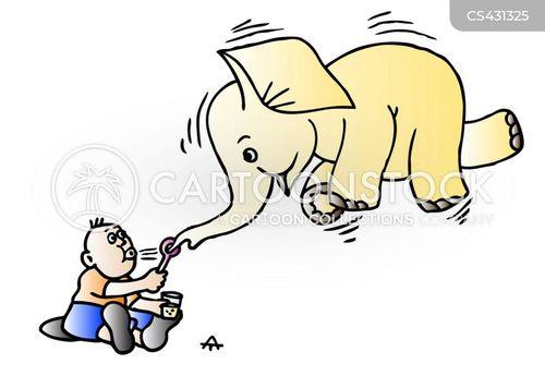 bubble blowers cartoon