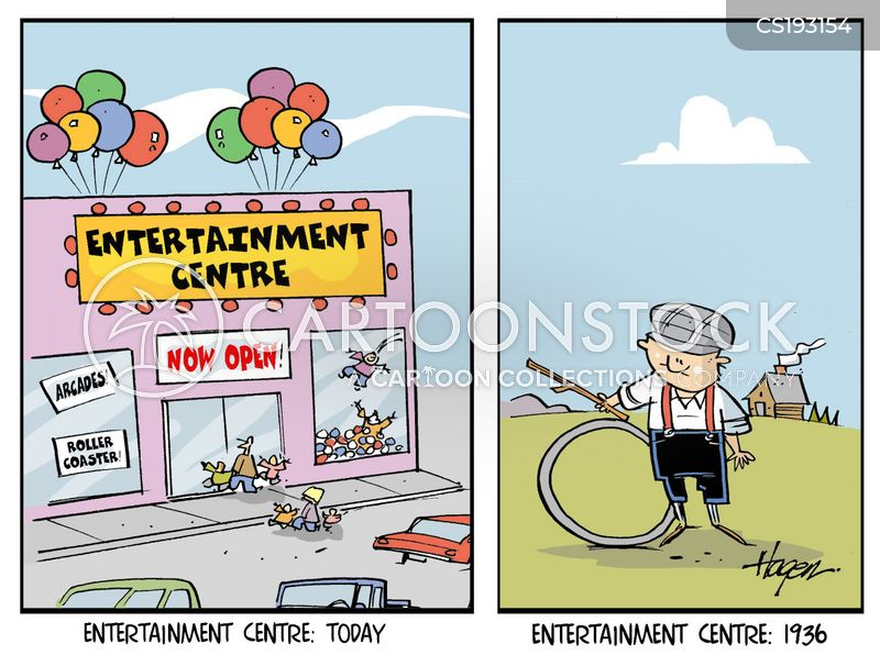 entertains cartoon