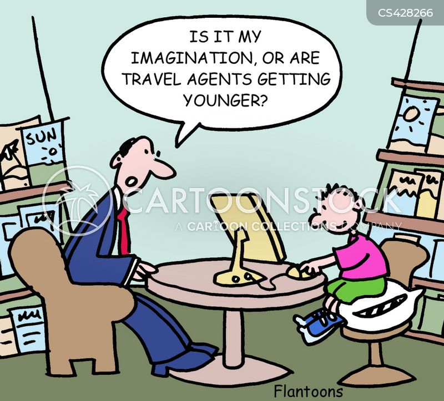 holiday planning cartoon