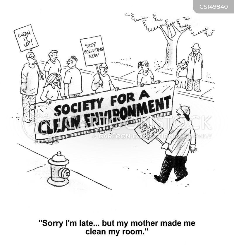 environments cartoon