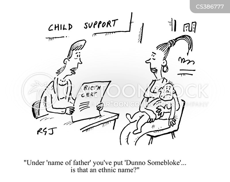 ethnic name cartoon