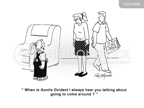 auntie cartoon