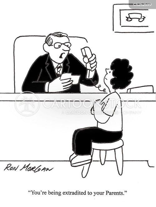 extradited cartoon