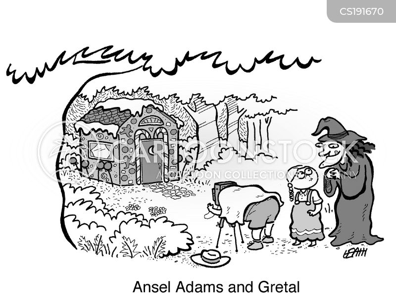 hansel and gretel cartoon