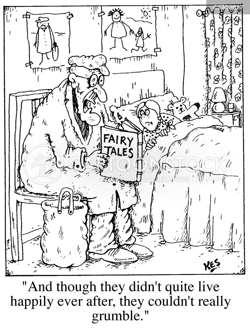 bed time story cartoon