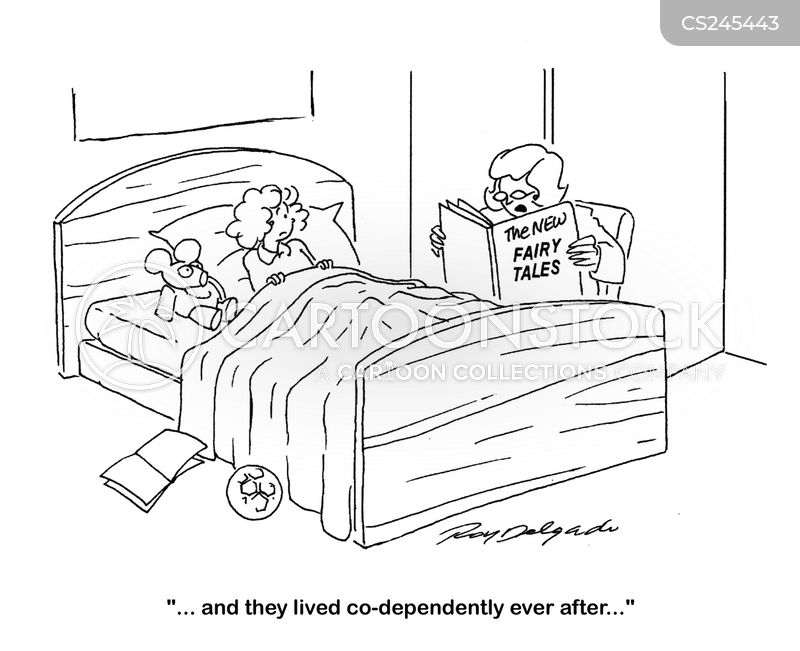 co dependent cartoon