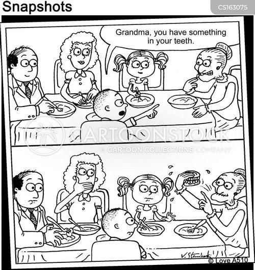 grand mother cartoon