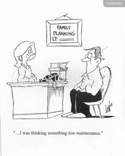 low maintenance cartoon