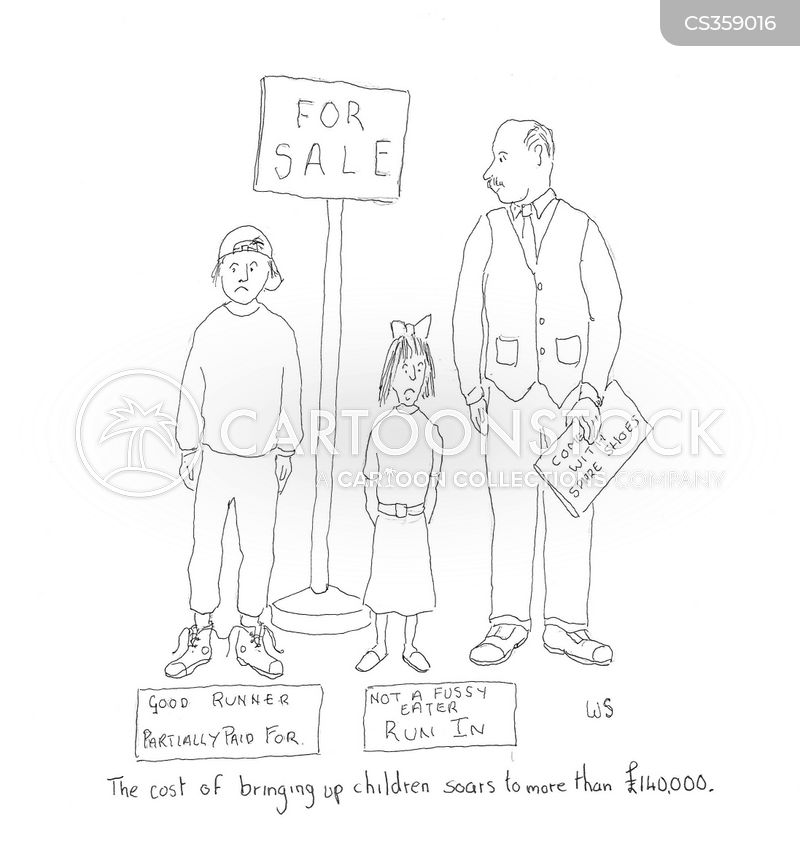 cost of children cartoon