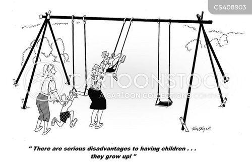 disadvantages cartoon