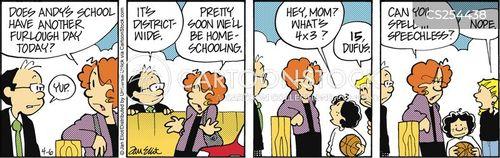 education systems cartoon