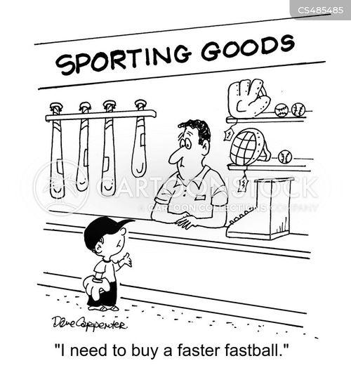 fastballs cartoon